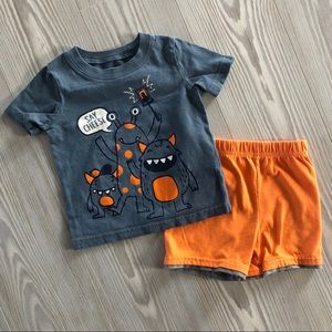 Buy3get1free ⭐️ 18 Month Summer Outfit
